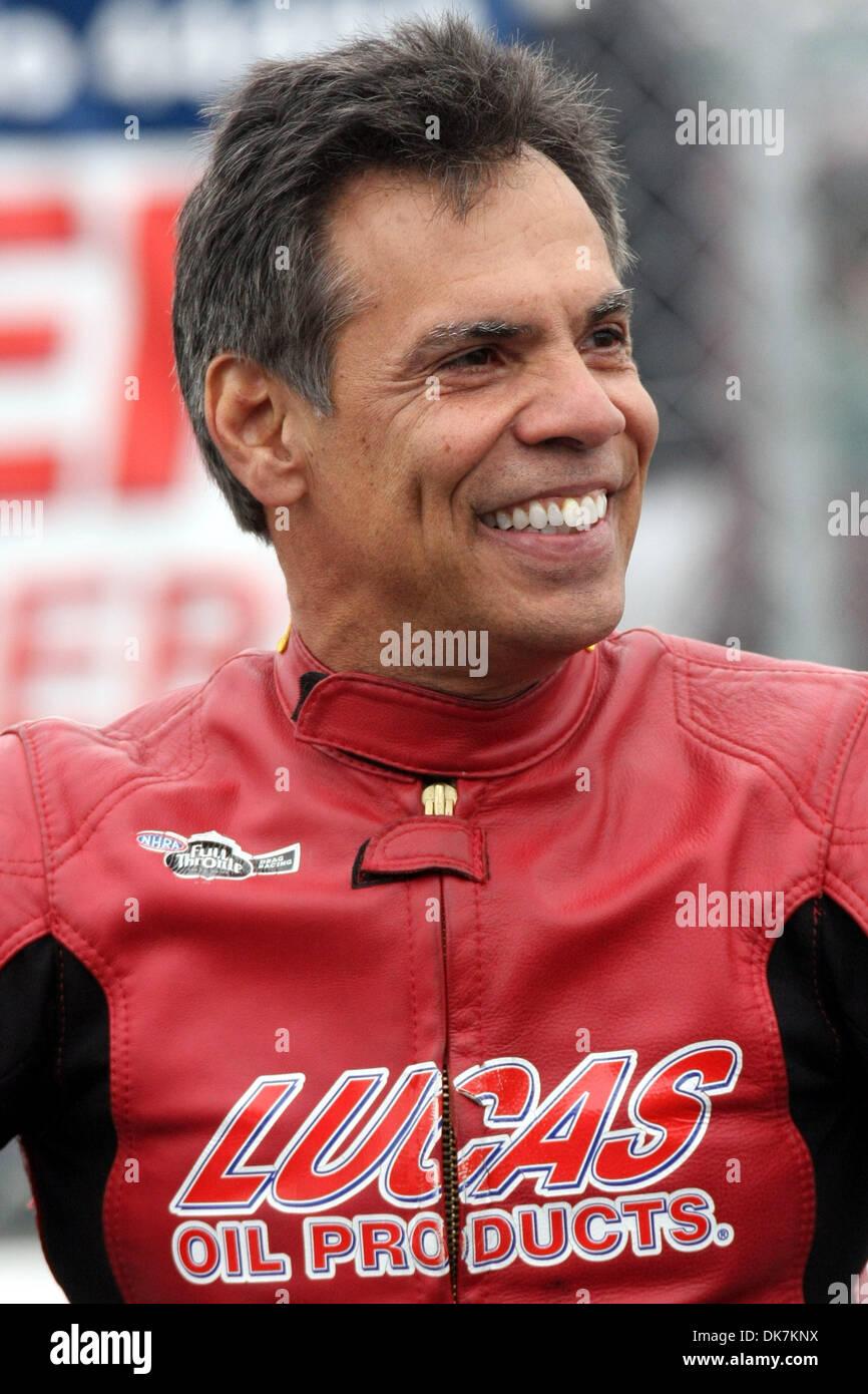 June 25, 2011 - Norwalk, Ohio, U S - Hector Arana Sr smiles in the