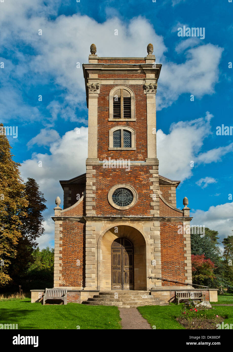 St Mary Magdalene Church, Willen, Milton Keynes; an exterior view - Stock Image