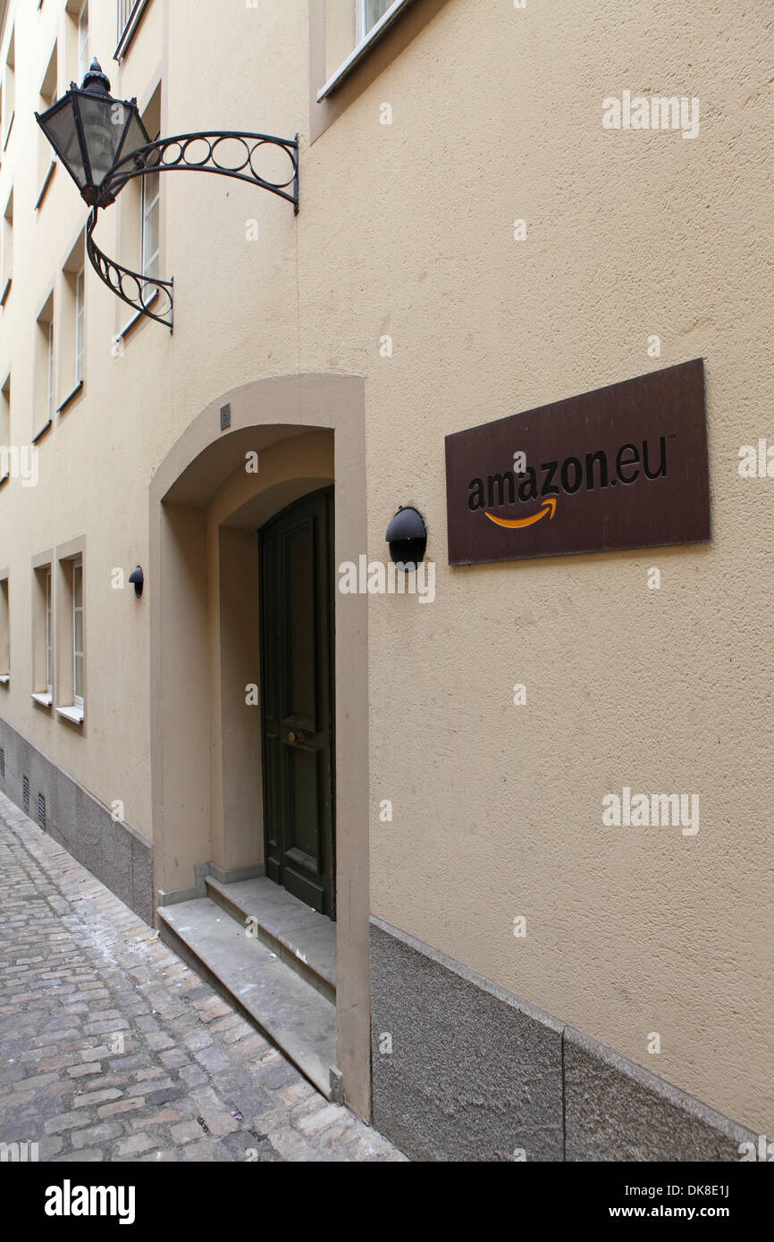 The Amazon Head Office In Luxembourg Stock Photo 63496206 Alamy