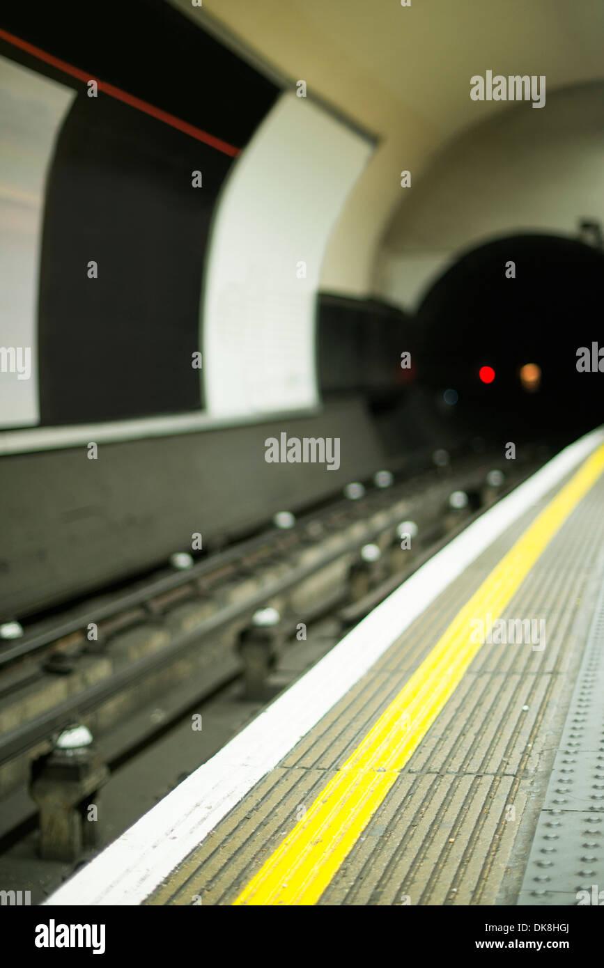 Underground in London - Stock Image