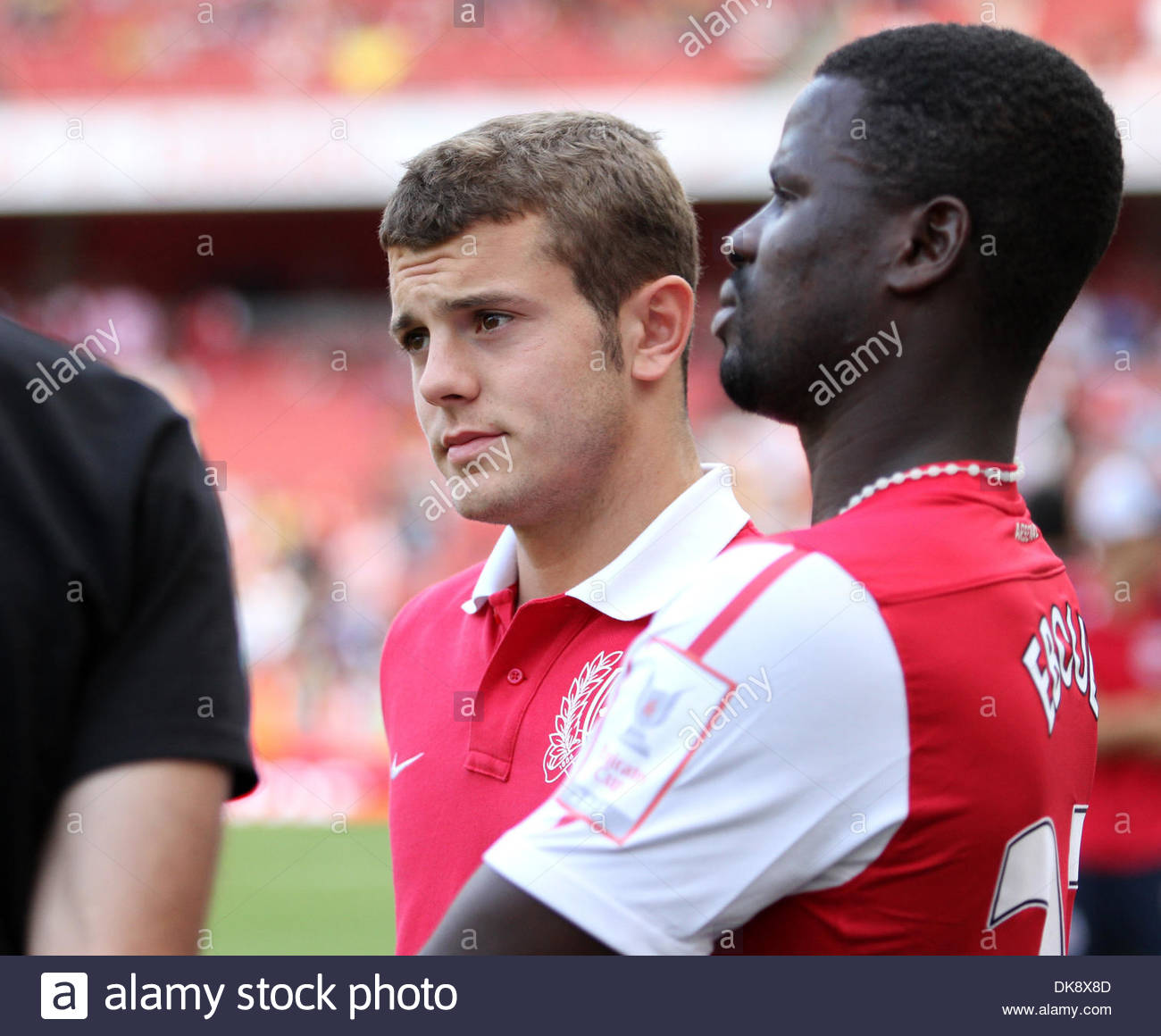 Arsenals Jack Wilshere looks on ..Emirates Cup..Arsenal v New York Red Bulls..31st July, 2011.(Credit Image: - Stock Image