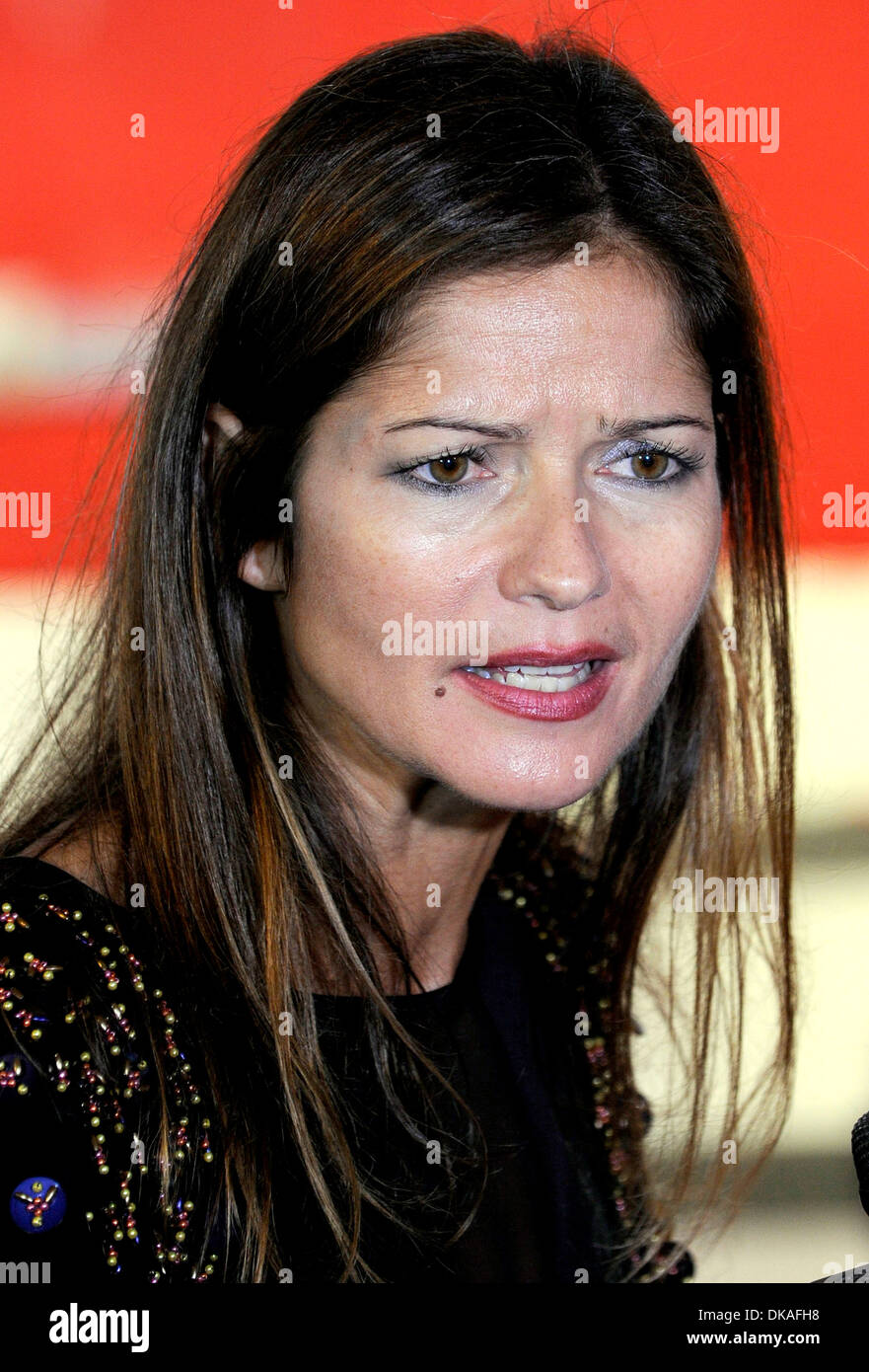 Jill Hennessey Canada's Walk of Fame Star unveilings at Ed Mirvish Theatre Toronto Canada - 22.09.12 - Stock Image