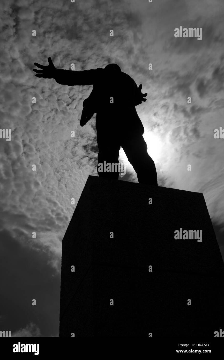Statue of Jim Larkin in Dublin city, Ireland - Stock Image