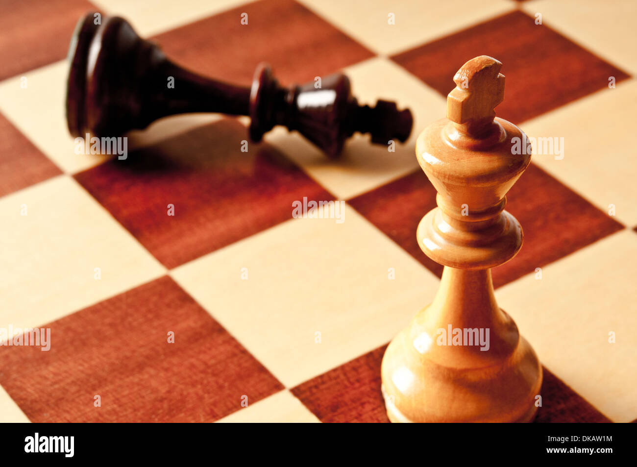 checkmate concept - Stock Image