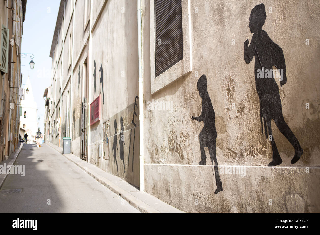 Streetscene, Marseille, France - Stock Image