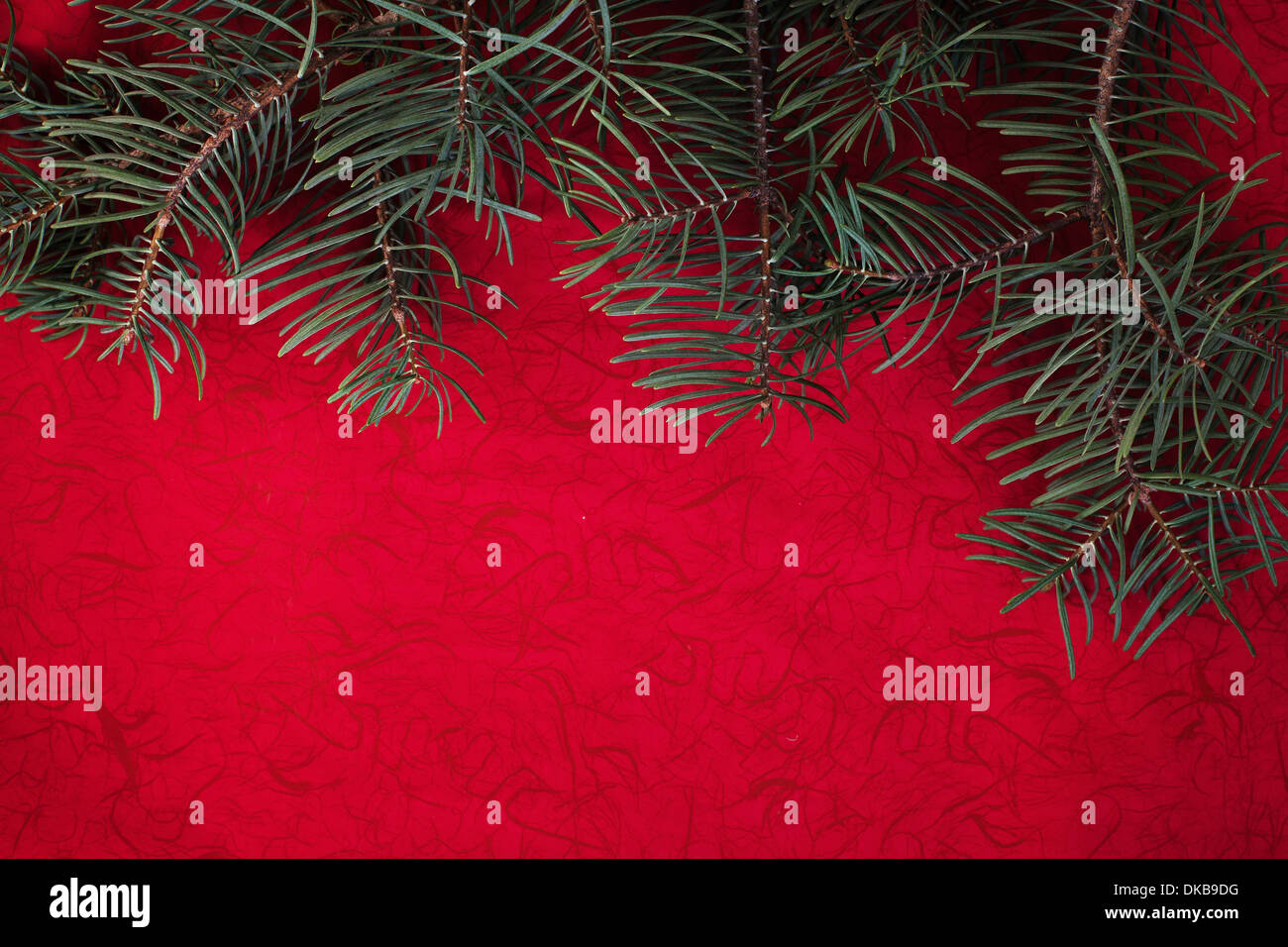 red holiday background - Stock Image