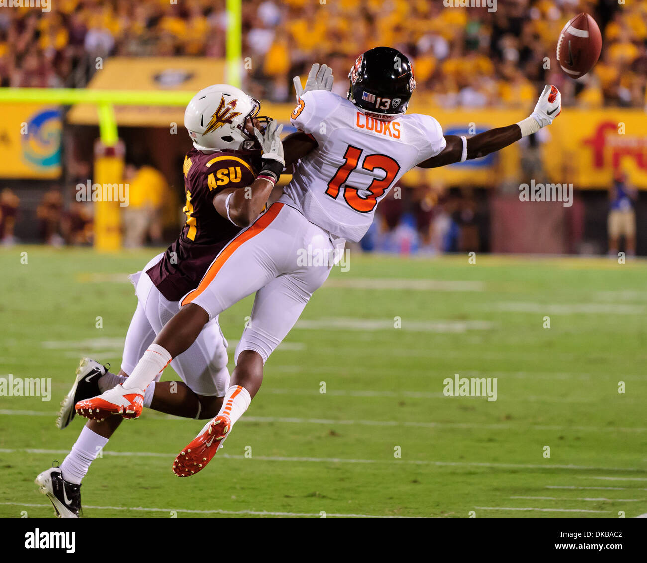 purchase cheap 06702 e2bfe October 1, 2011: Oregon State wide receiver Brandin Cooks ...