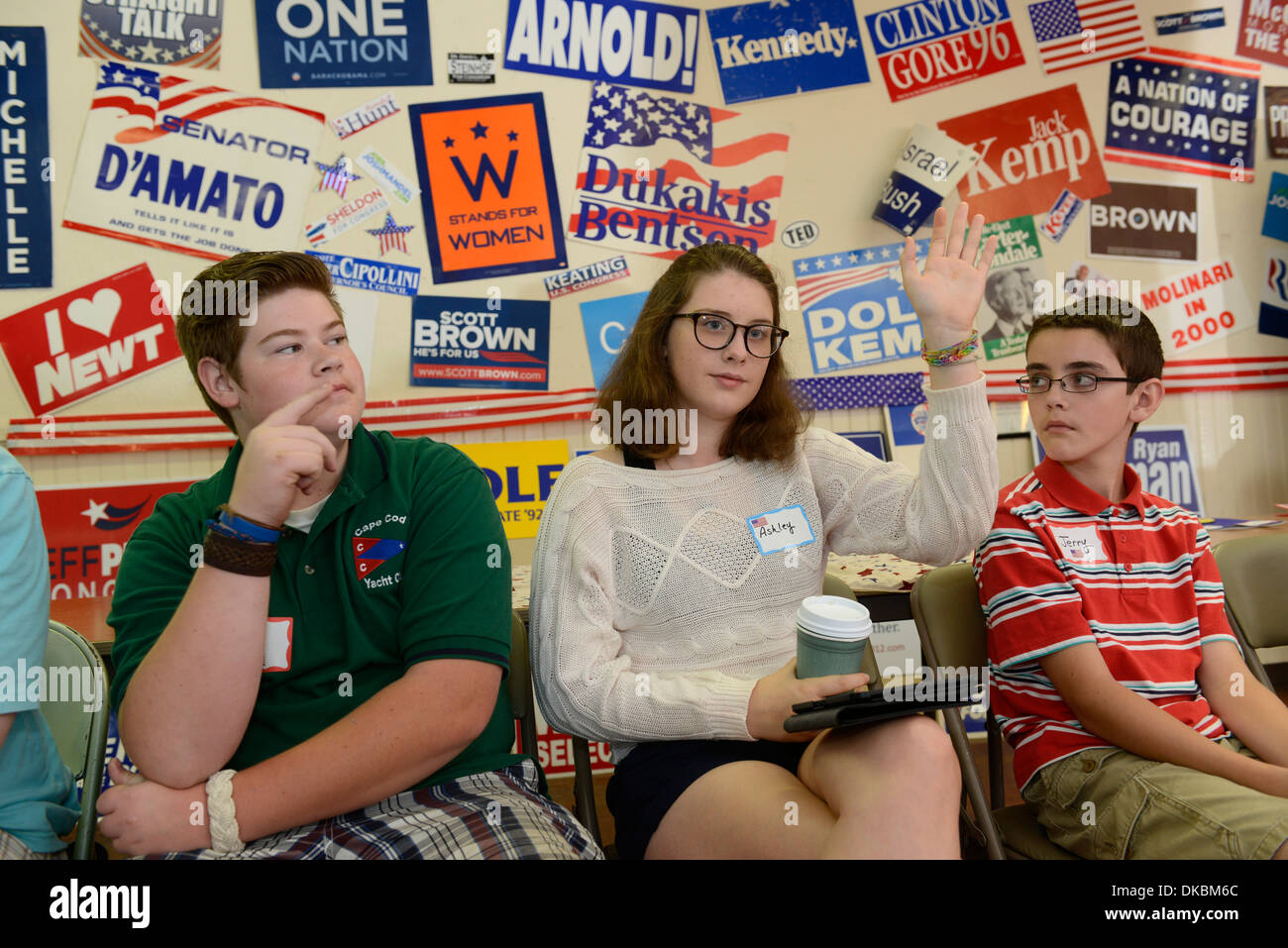 Participants Debate At Camp Usa A Two Week Non Partisan Camp For