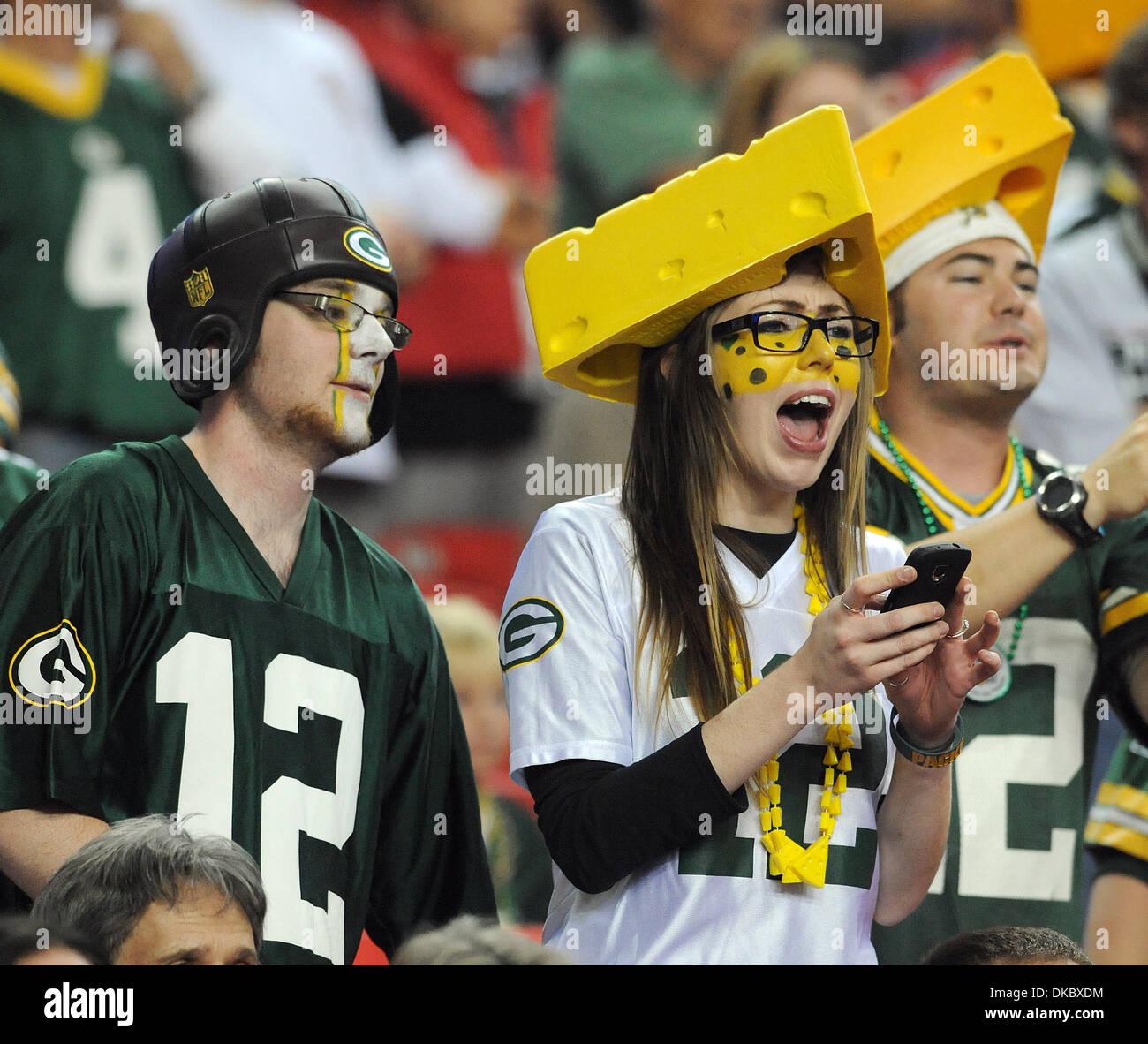 8c5822b1b Green Bay Packers Fans Stock Photos   Green Bay Packers Fans Stock ...