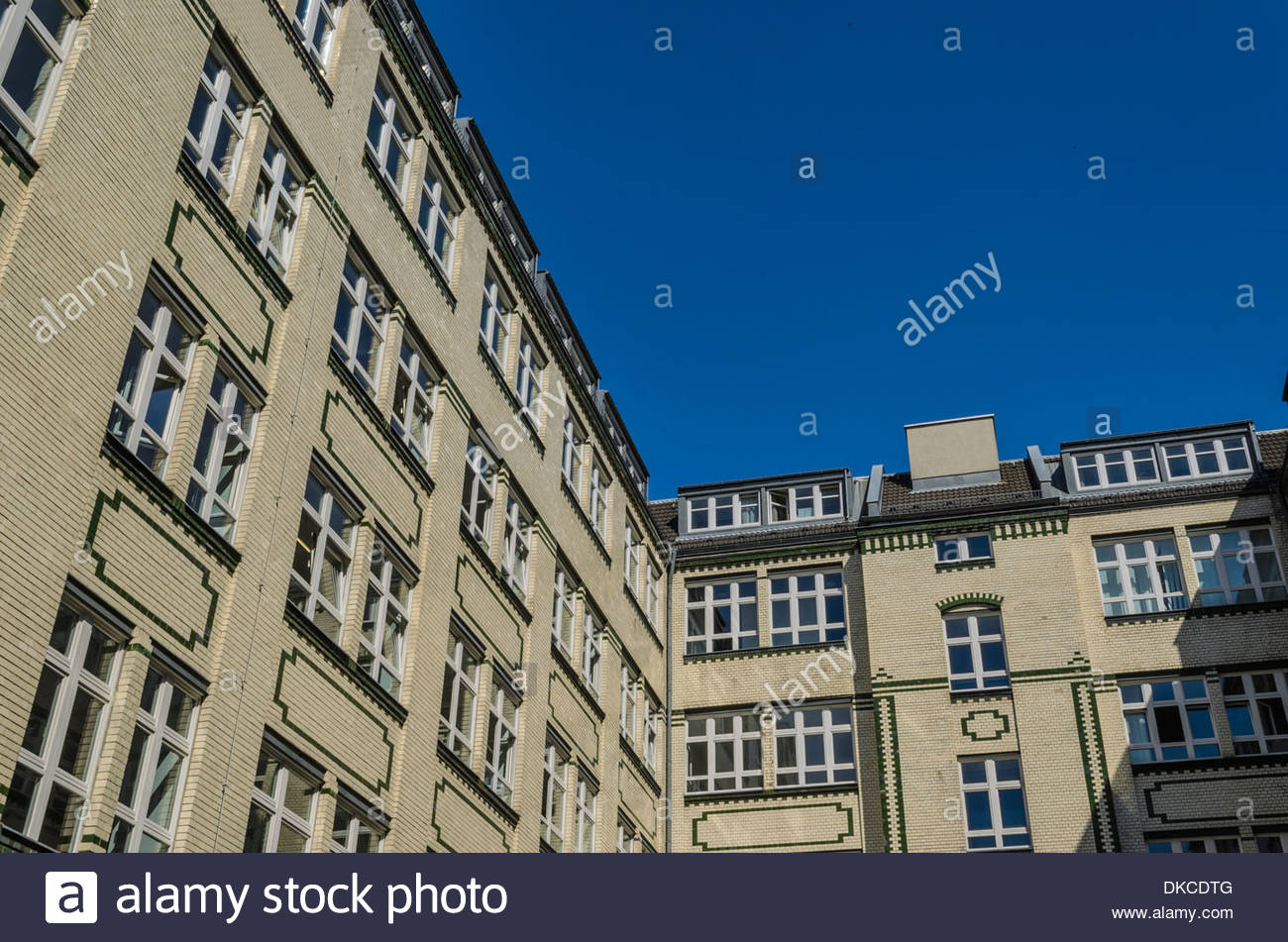Historical office buildings, Berlin, Germany - Stock Image