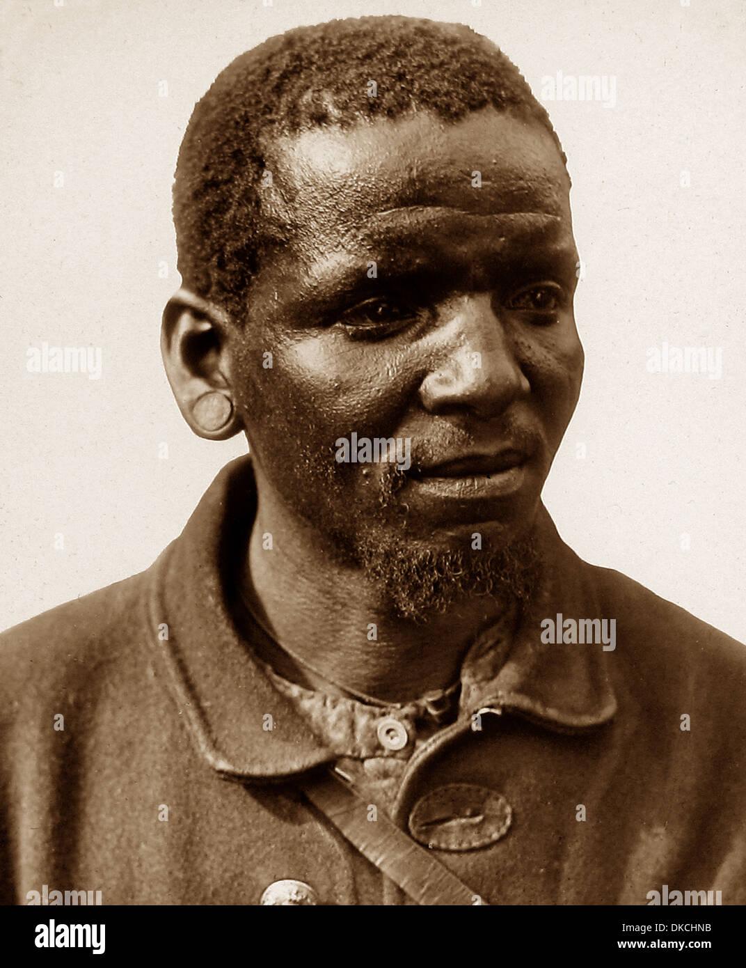 Africa Tock Boy pre-1900 - Stock Image
