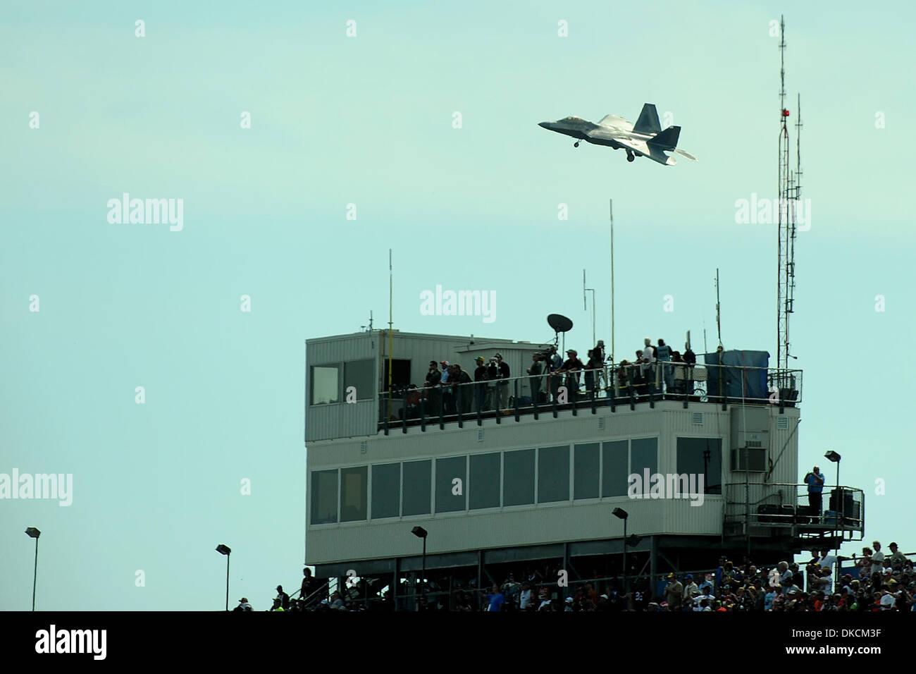 Oct  23, 2011 - Talladega, Alabama, U S - Military jets fly