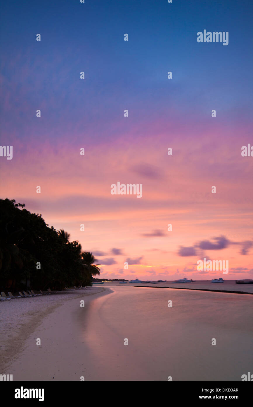 Kuramathi Island Resort, Maldives. - Stock Image