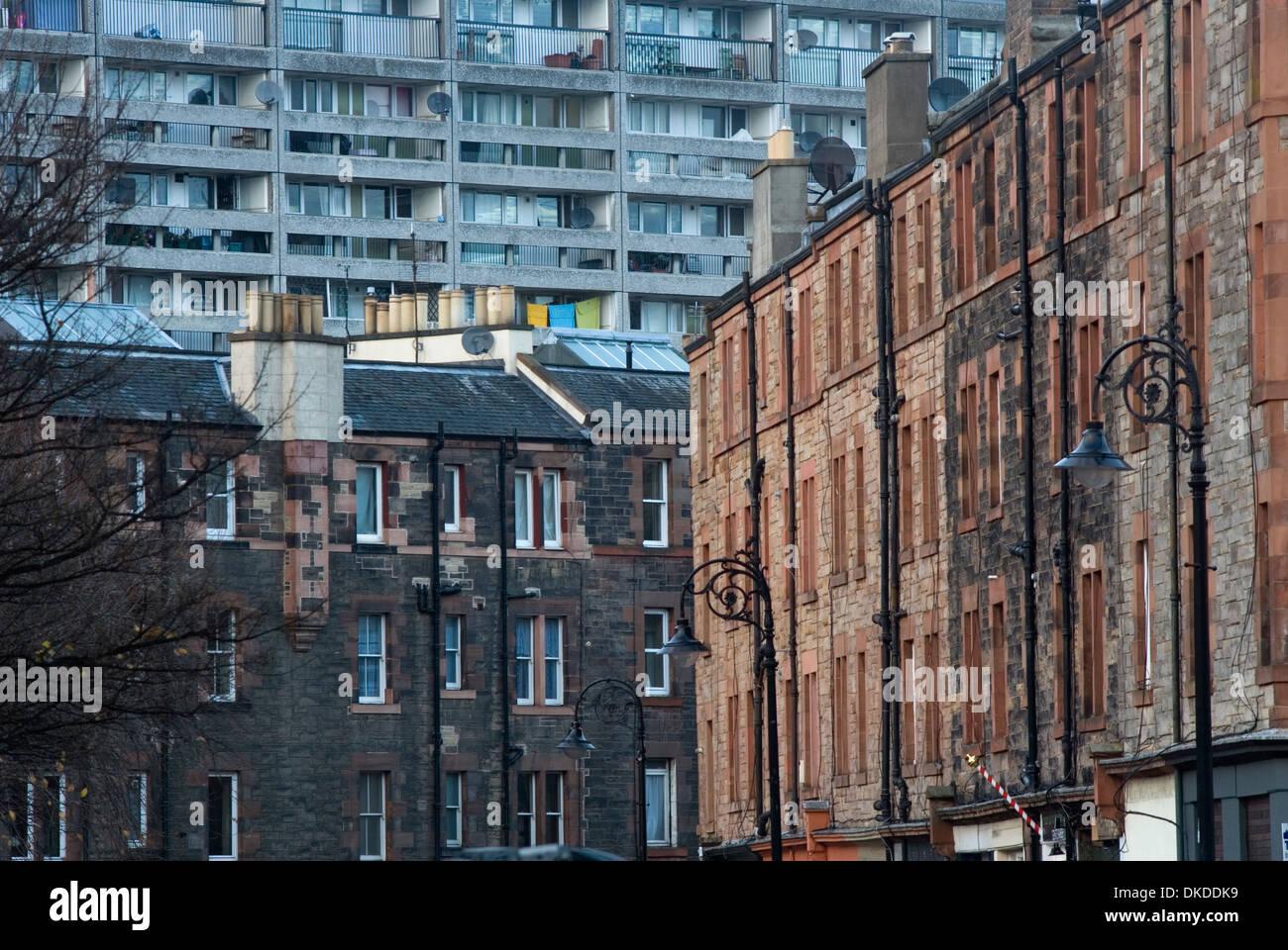 Leith, Edinburgh, Scotland, UK, Europe Stock Photo