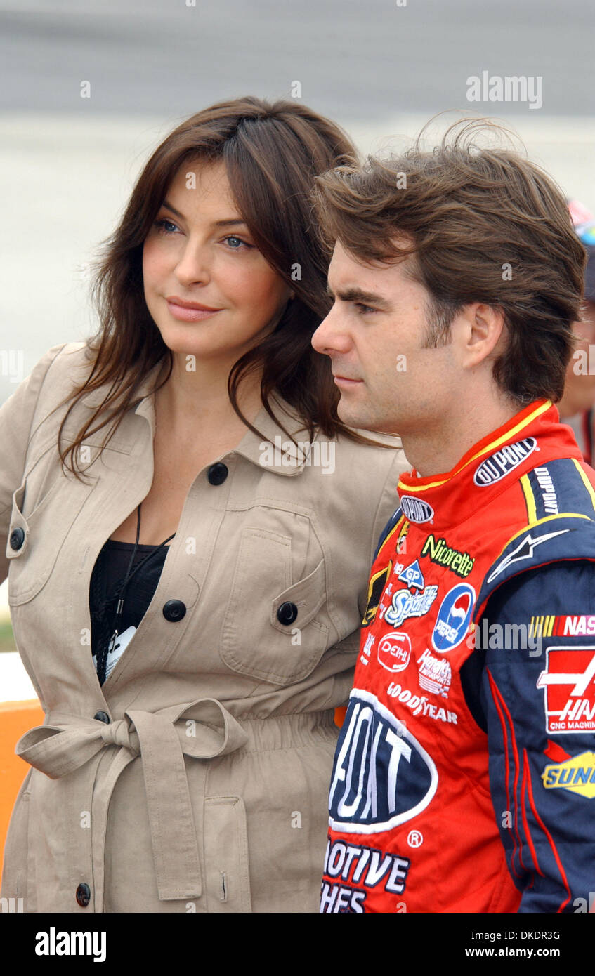 Jeff Gordon And Wife Ingrid Vandebosch High Resolution Stock Photography And Images Alamy