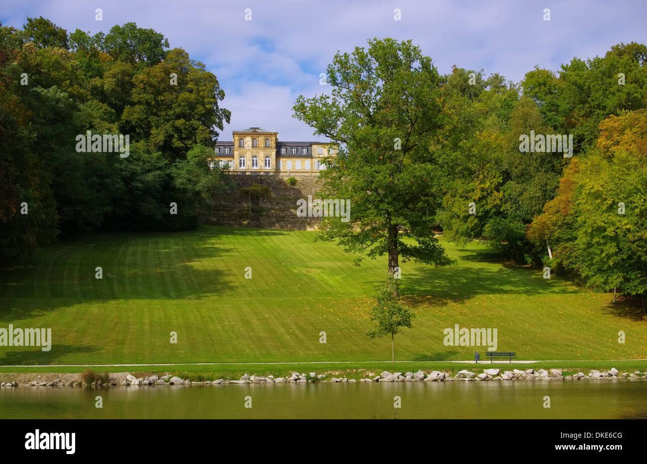 Bayreuth Schloss Fantaisie - Bayreuth Palace Fantaisie 04 - Stock Image