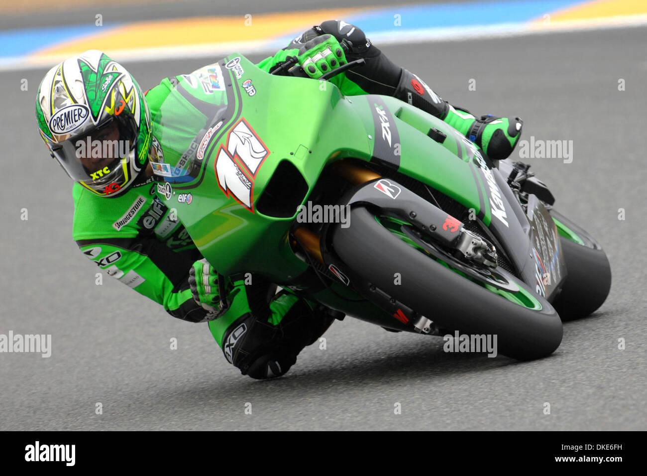 LE MANS (FRANCIA) 18/05/2007 - PROVE LIBERE GRAN PREMIO DI MOTOCICLISMO / NIETO / FOTO GIORGIO NEYROZ/SPORT IMAGE Stock Photo