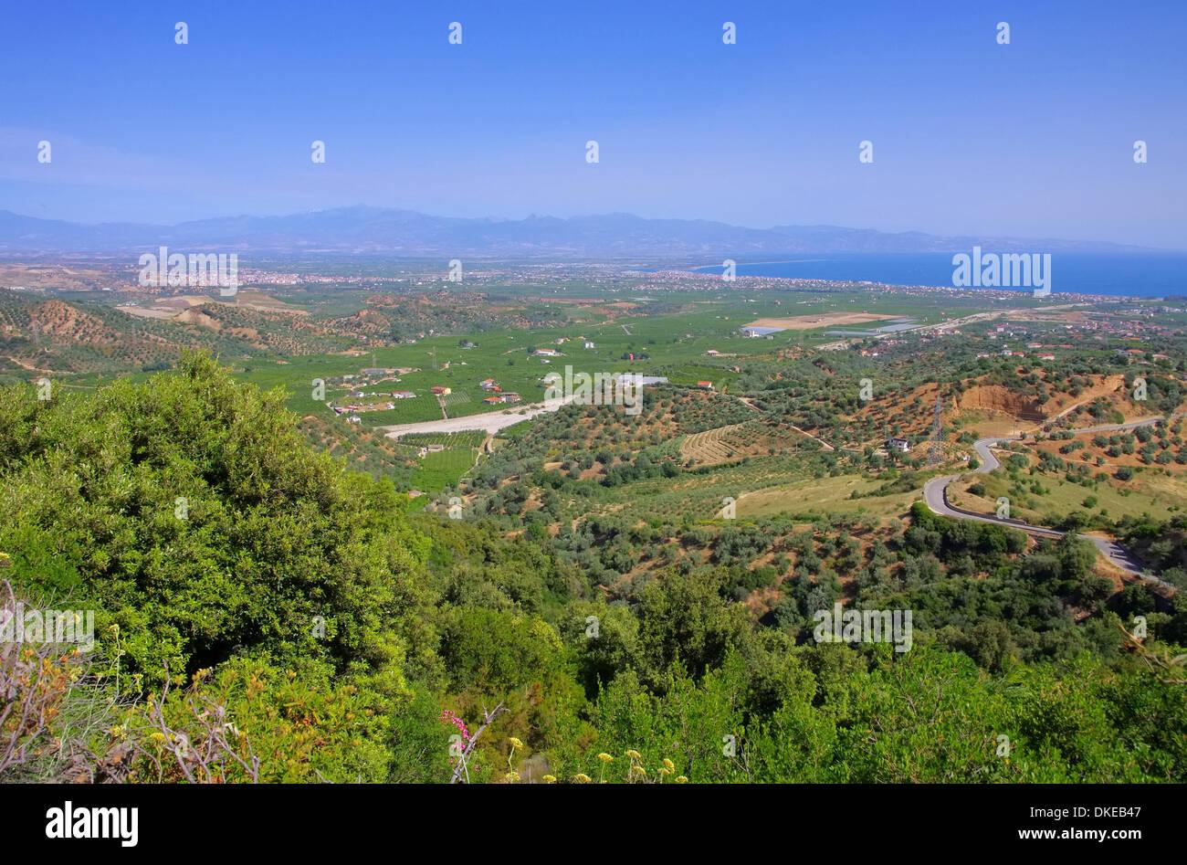 Kalabrien Kueste bei Rossano - Calabria coast near Rossano 01 Stock Photo
