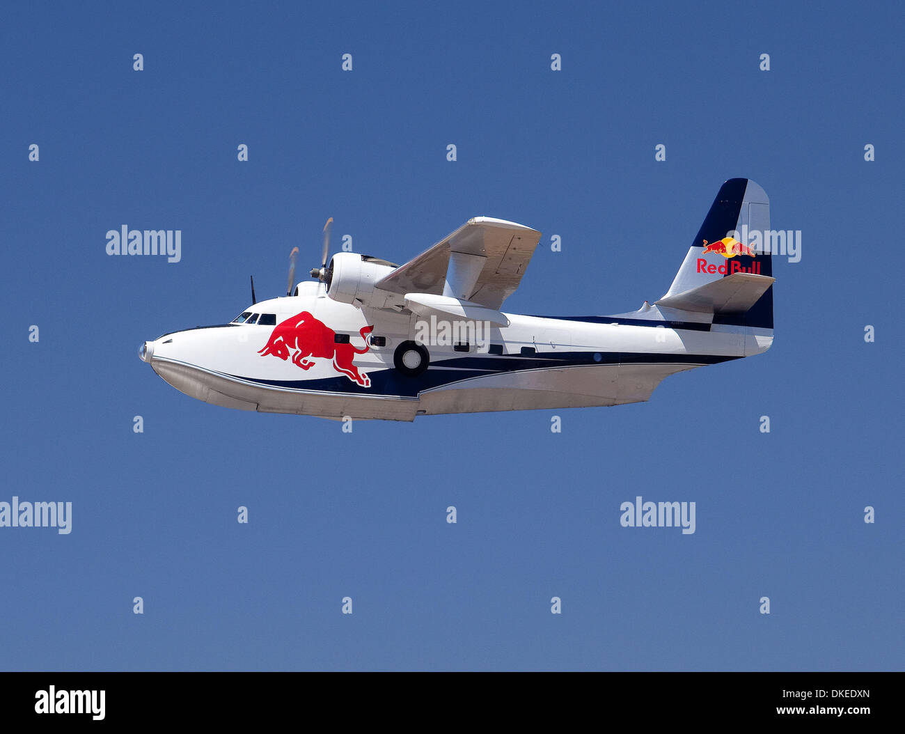 May 10, 2009 - San Diego, California, USA - Red Bulls grumman albatross at the Red Bull Air Race San Diego. (Credit Stock Photo