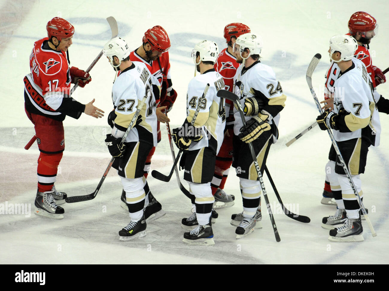 May 26 2009 Raleigh North Carolina Usa National Hockey League