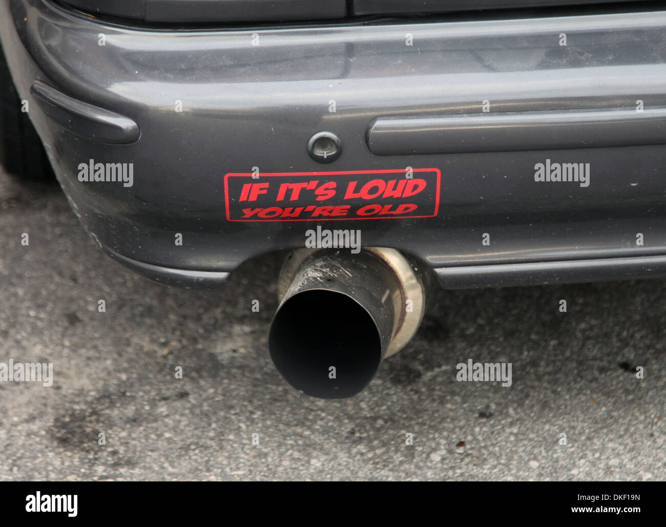 Loud Exhaust High Resolution Stock Photography And Images Alamy