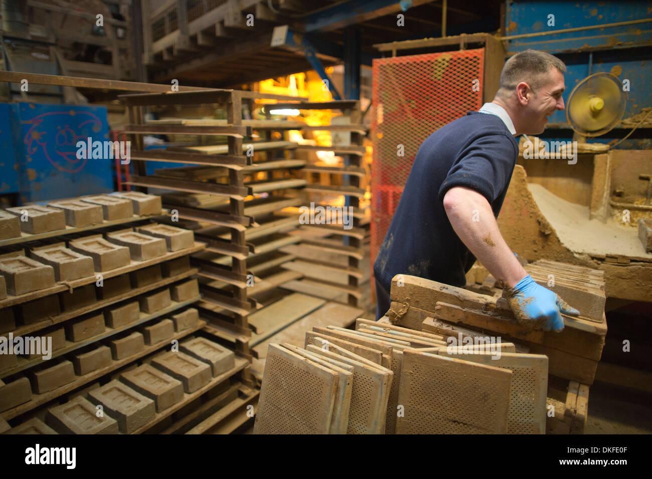Bovingdon Brick manufacturers, Hertfordshire, England, UK - Stock Image