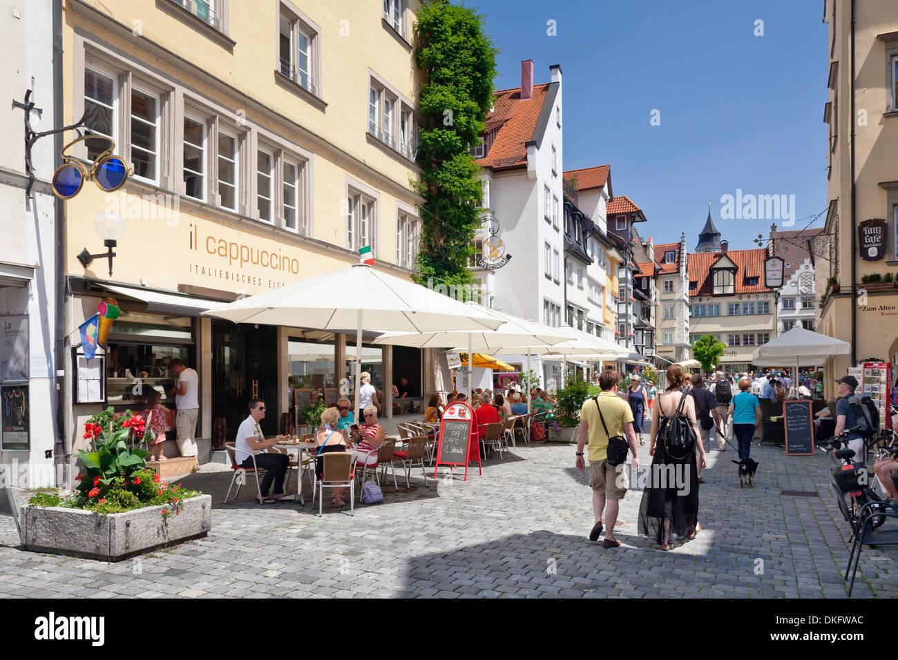 Lindau, Bodensee, Bavaria, Germany, Europe Stock Photo