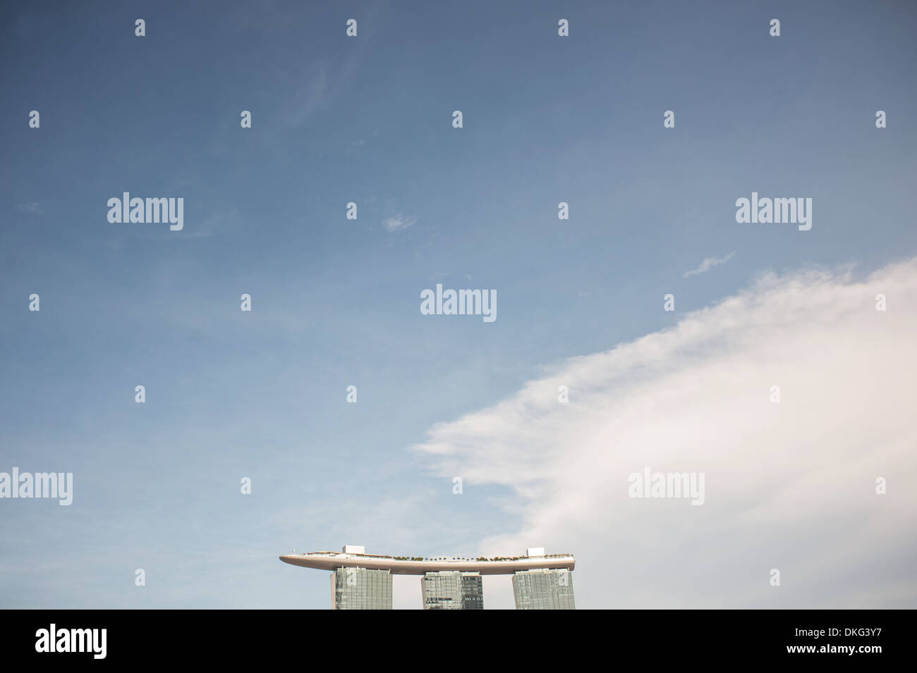 Marina Bay Sands - Stock Image