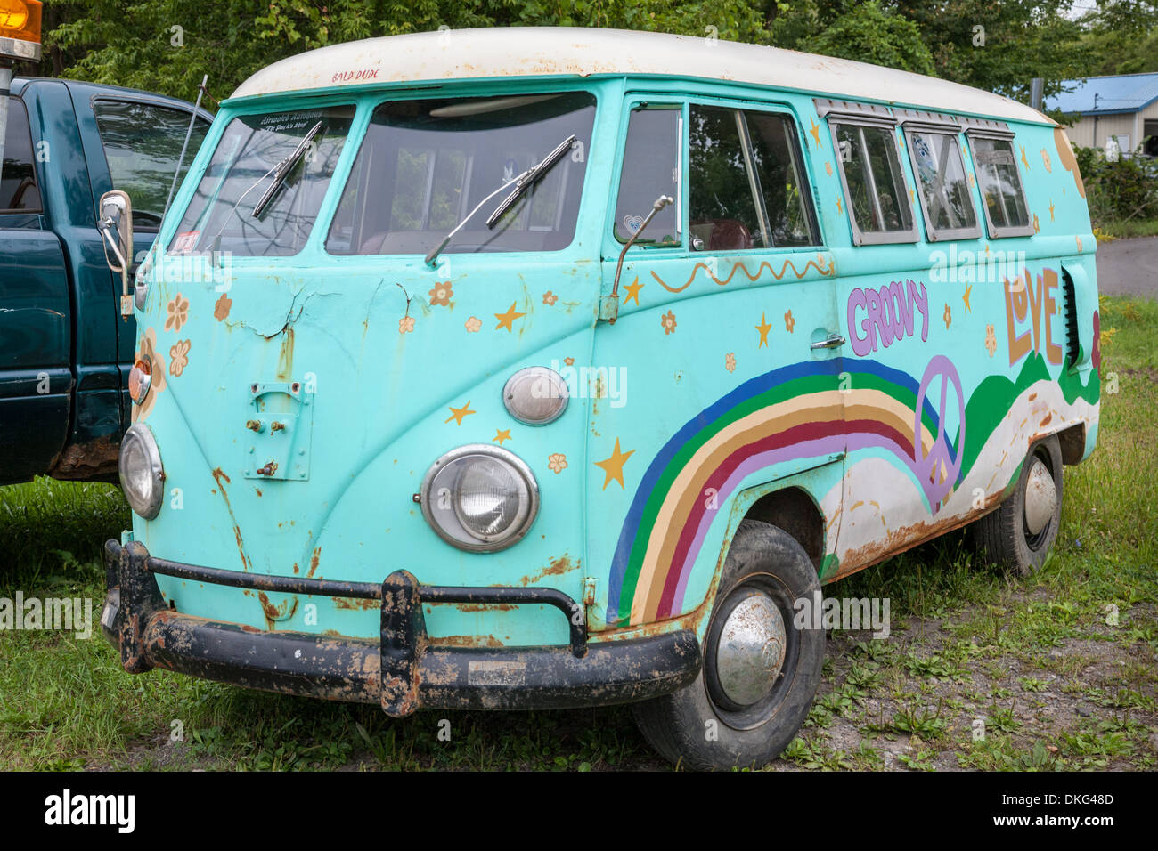 7295f098e6 Hippie Van Stock Photos   Hippie Van Stock Images - Alamy