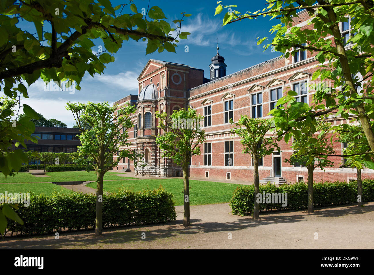 Citadel Juelich, Juelich, North Rhine-Westphalia, Germany, Europe - Stock Image