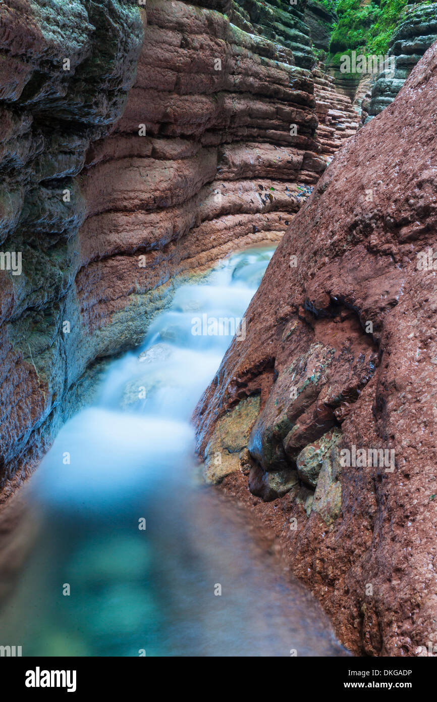 Taugl gorge in Tennengau, Salzburg State, Austria Stock Photo