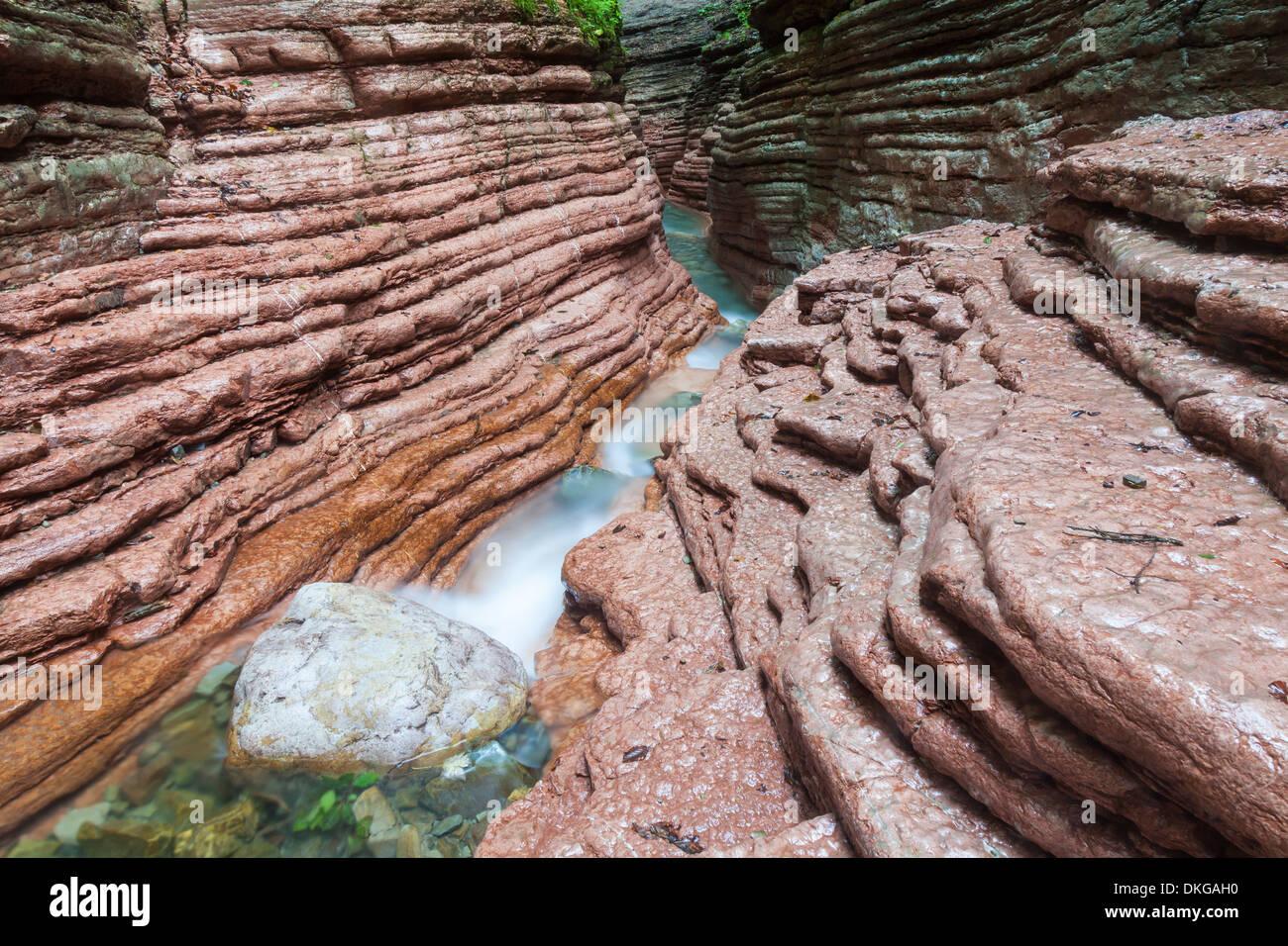 Taugl gorge in Tennengau, Salzburg State, Austria Stock Photo