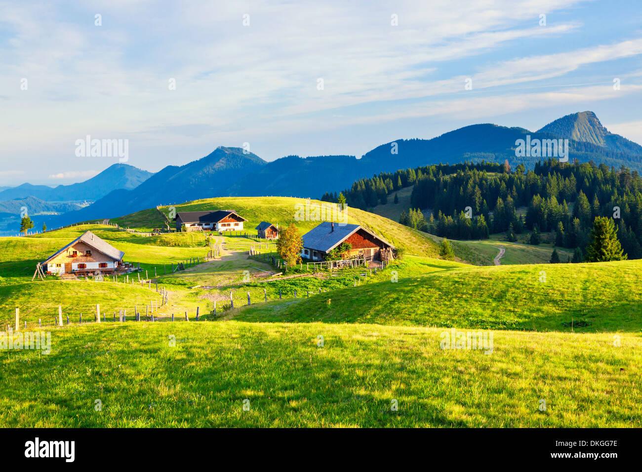 Alp in the Salzkammergut Mountains, Austria Stock Photo