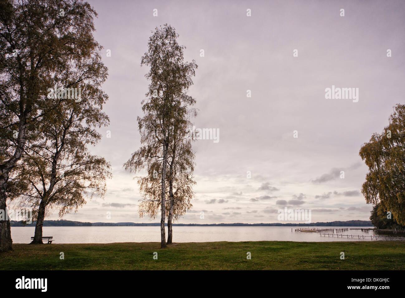 Lake Ploen, Holsteinische Schweiz, Schleswig-Holstein, Germany, Europe - Stock Image