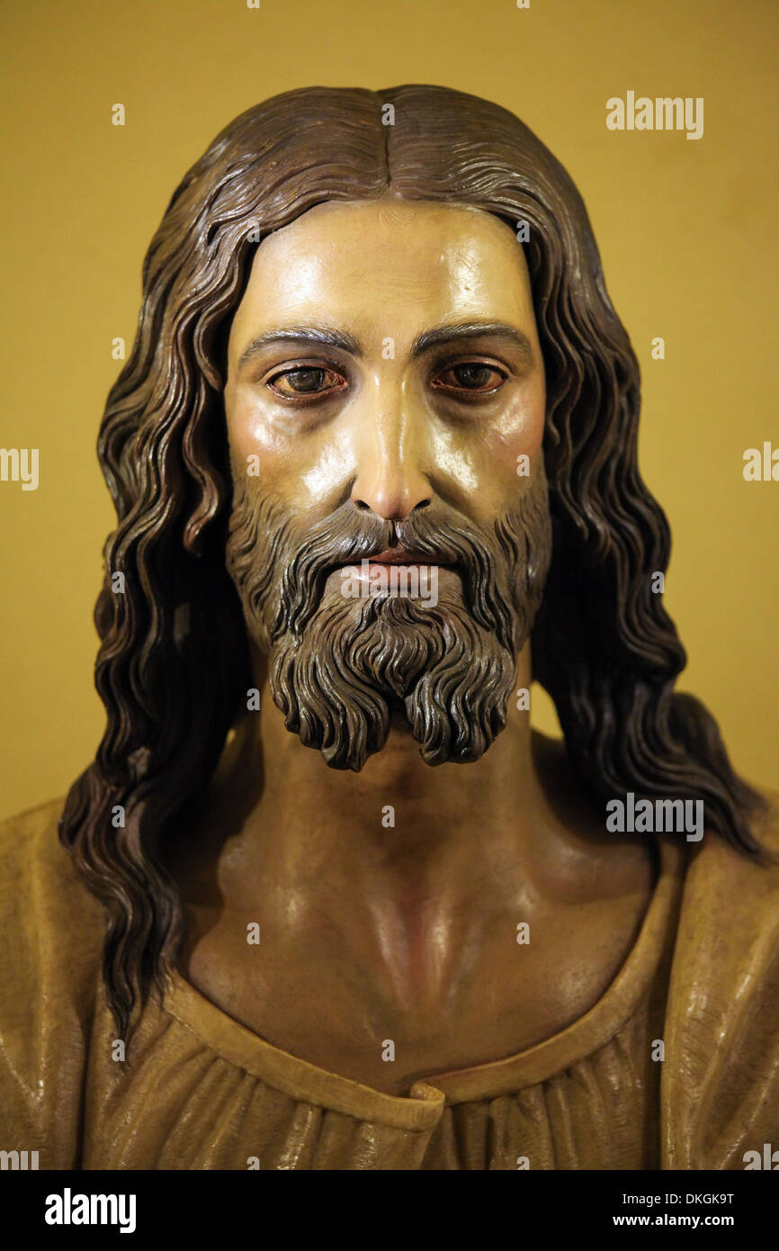 Statue of Jesus Christ, in the church of Ronda, Spain, - Stock Image