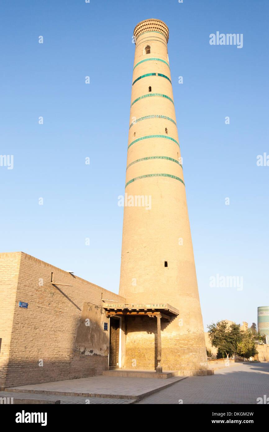Juma Mosque, also known as Juma Masjidi Va Minorasi, Ichan Kala, Khiva, Uzbekistan - Stock Image