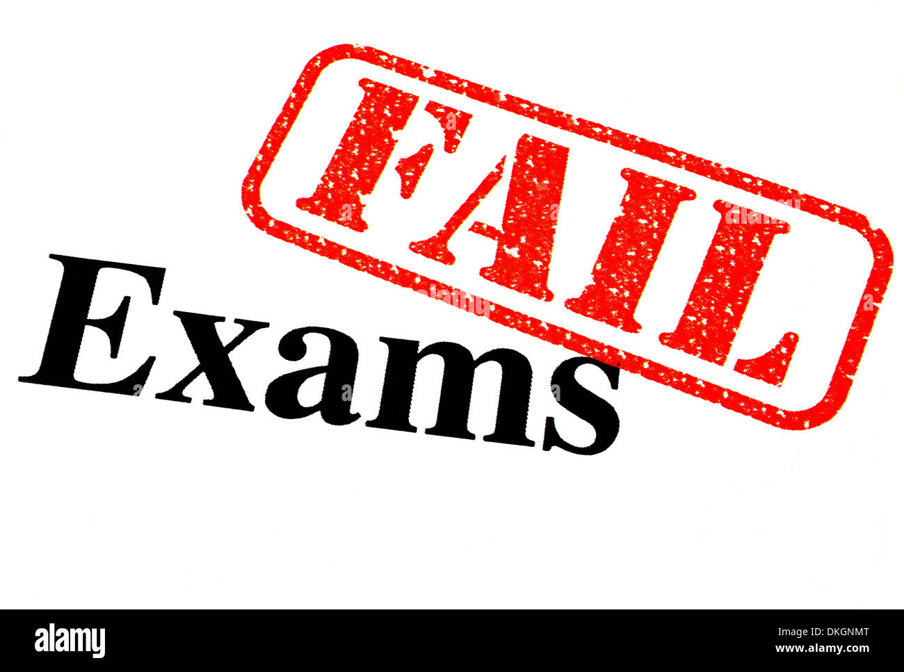 Close up of a failed exam paper stock photo 63677848 alamy for Www famil