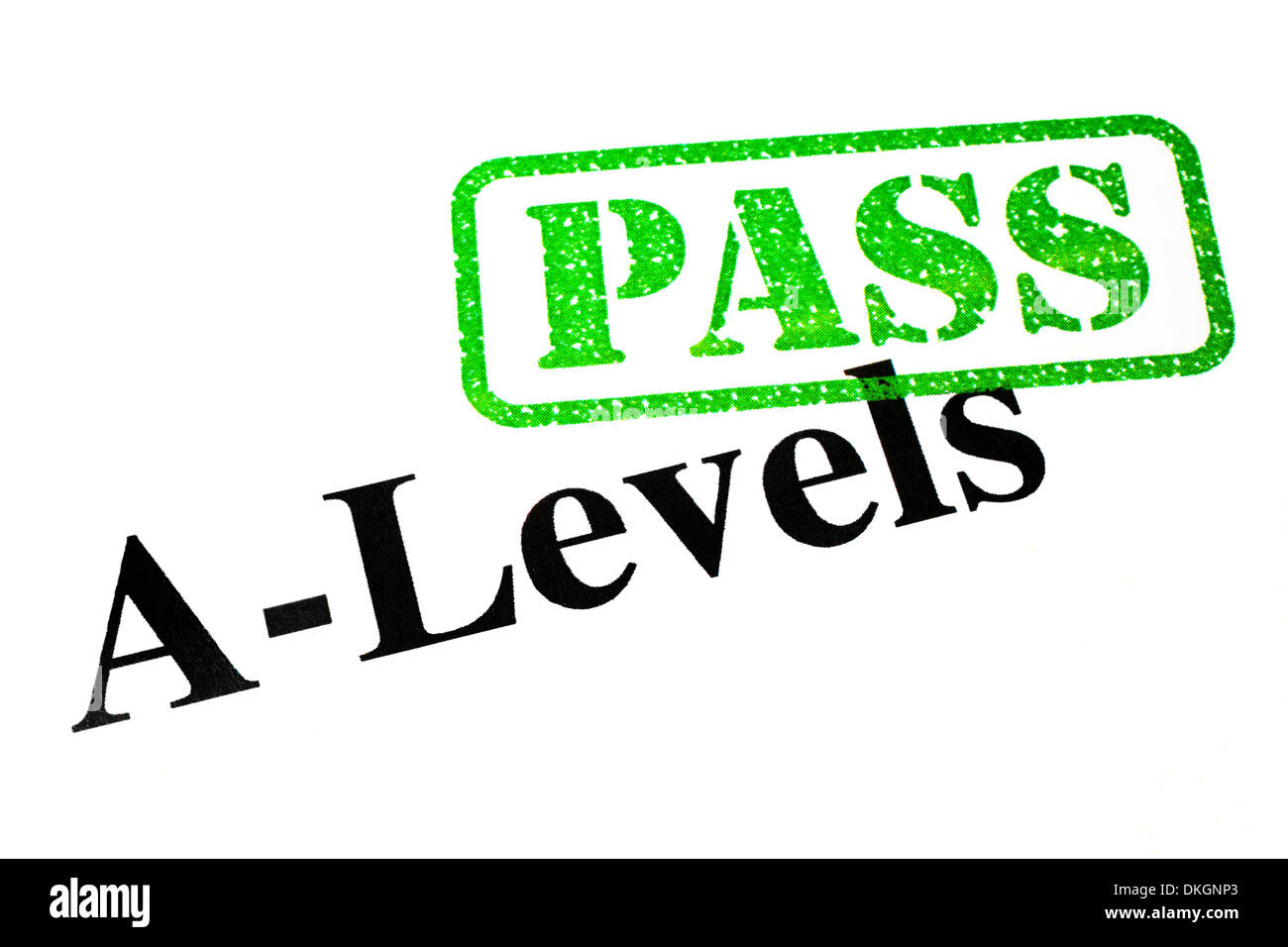 Passed your A-Levels. - Stock Image