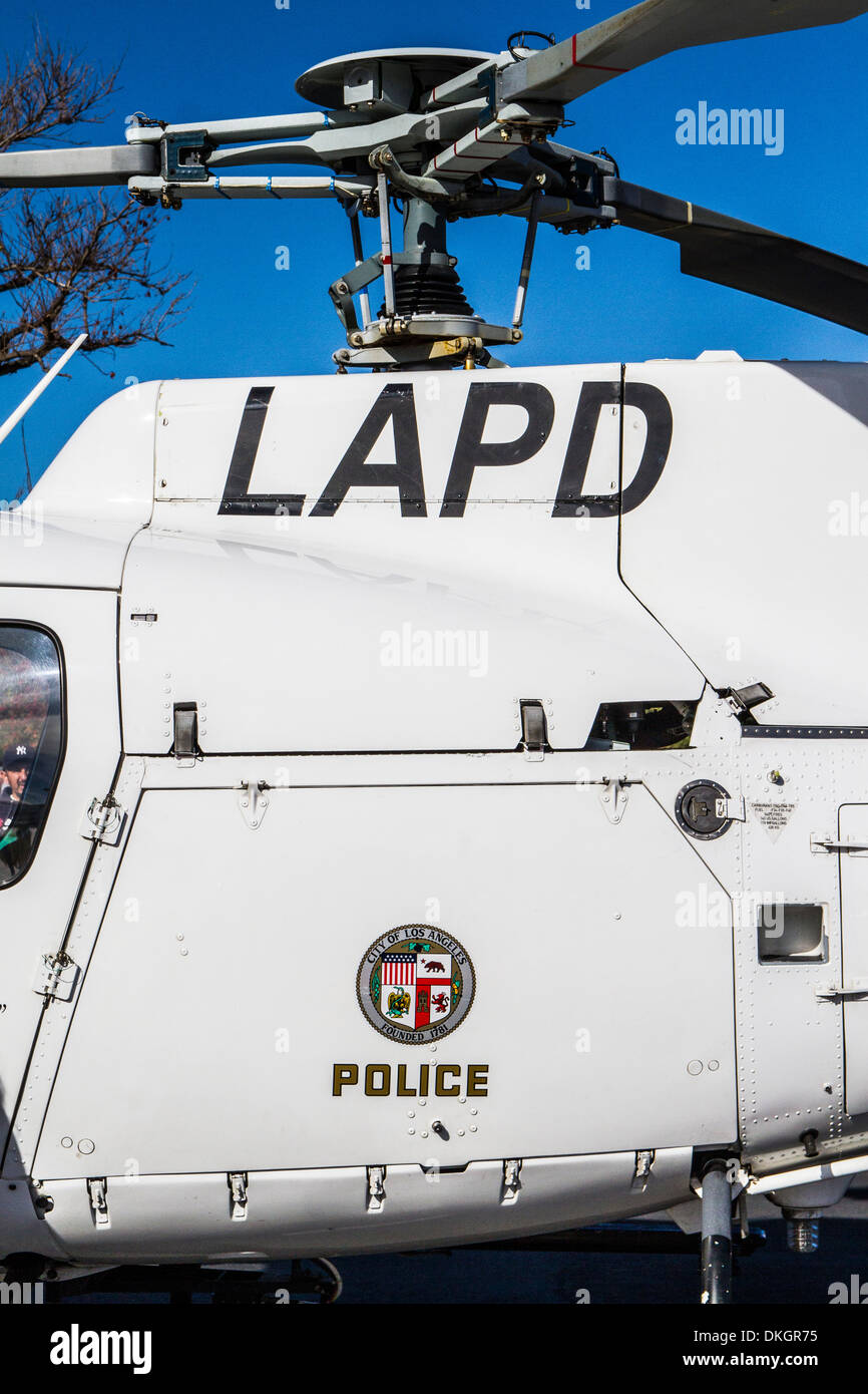 A Los Angeles Police Department Helicopter at the Motor4toys