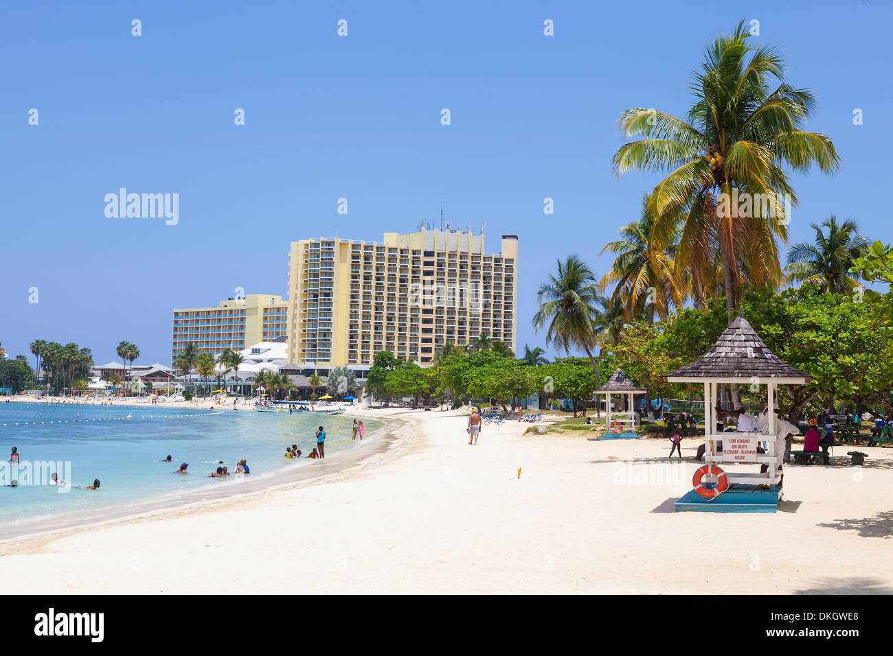 Turtle Bay, Ocho Rios, Jamaica, West Indies, Caribbean, Central America - Stock Image
