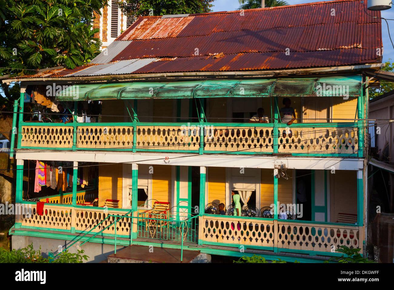 colonial architecture port antonio jamaica west indies caribbean
