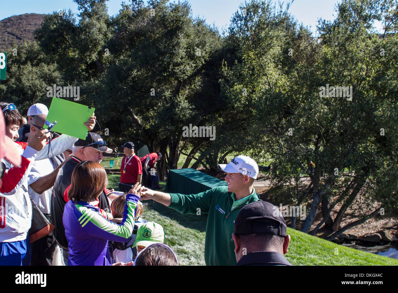 at the 2013 Northwestern Mutual Challenge at Sherwood Country Club in Thousand Oaks California - Stock Image