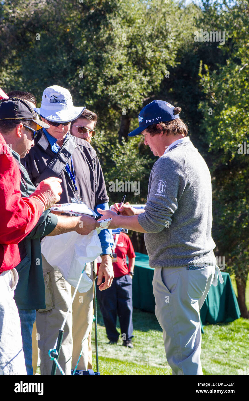 Jason Dufner at the 2013 Northwestern Mutual Challenge at Sherwood Country Club in Thousand Oaks California - Stock Image