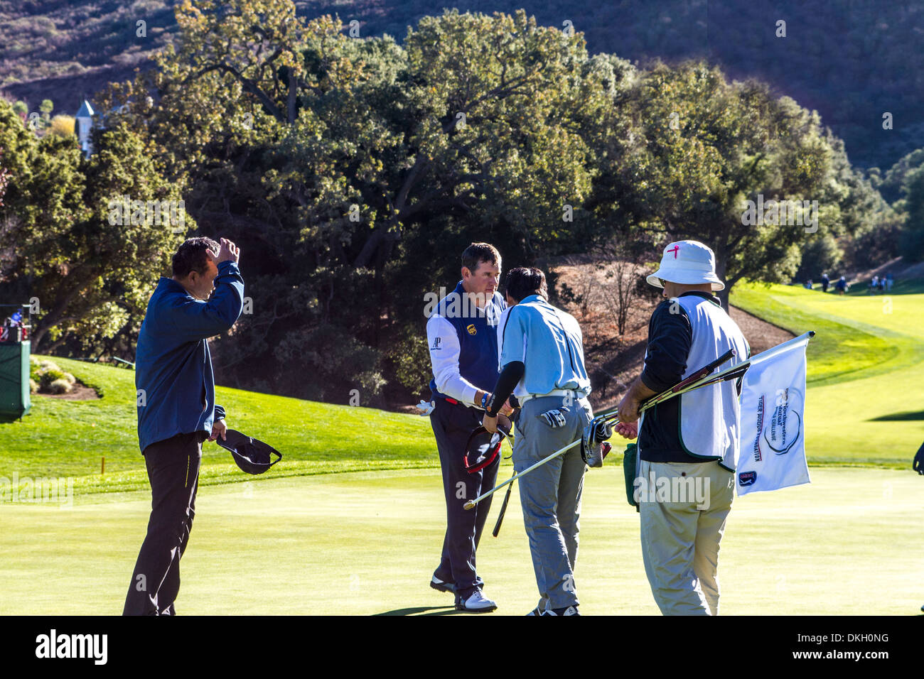 Lee Westwood at the 2013 Northwestern Mutual Challenge at Sherwood Country Club in Thousand Oaks California - Stock Image