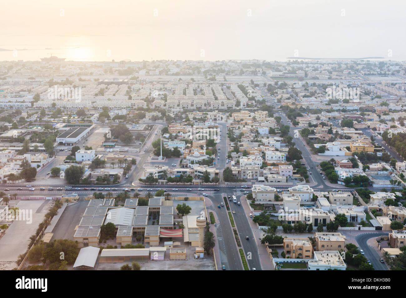Cityscape, Dubai, United Arab Emirates, Middle East - Stock Image