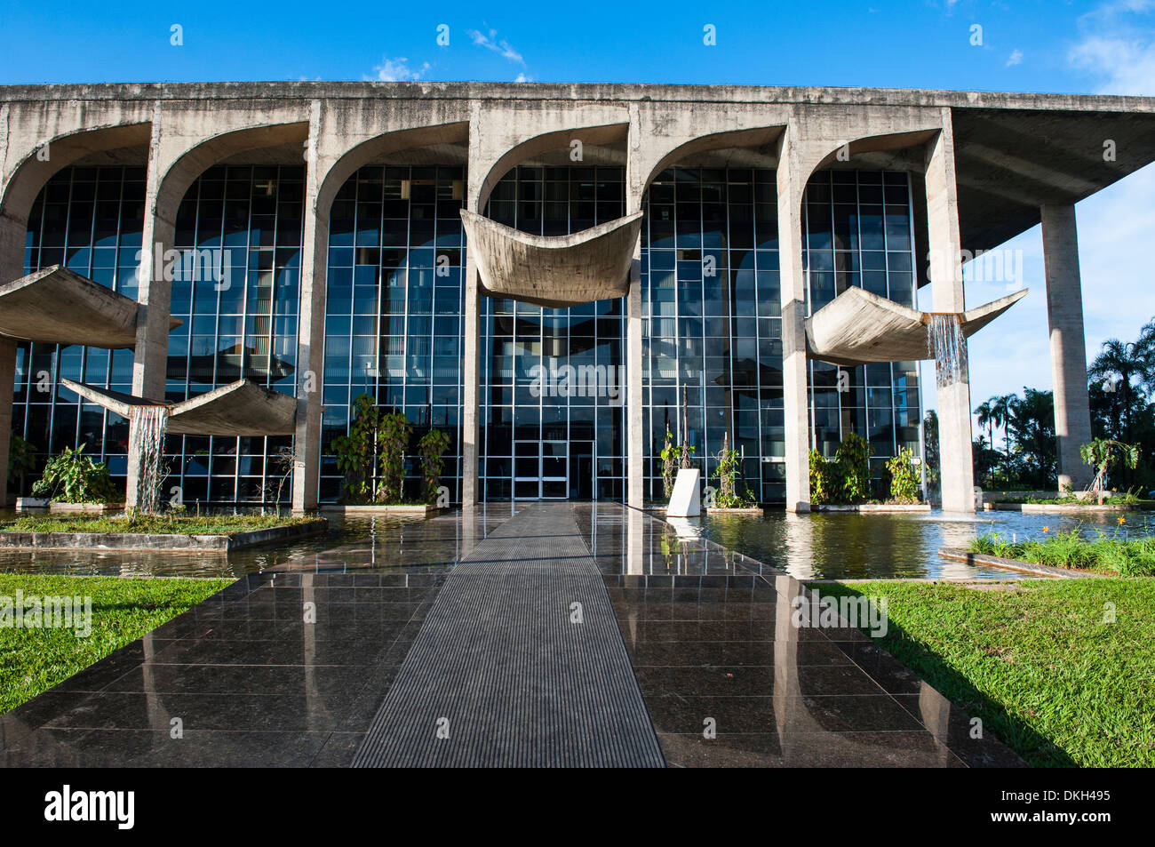 Ministry of Justice, Brasilia, UNESCO World Heritage Site, Brazil, South America - Stock Image