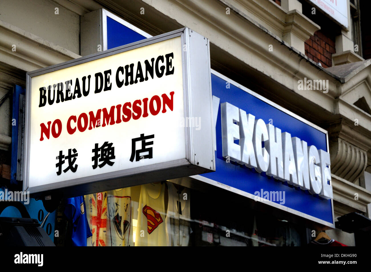 Bureau De Change No Commission High Resolution Stock Photography And Images Alamy