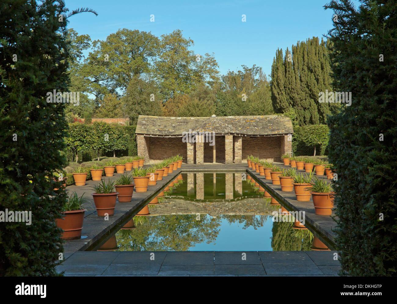 The Dutch Garden, Hampton Court Van Kampen Gardens, Hope Under Dinmore,  Herefordshire, Great Britain.