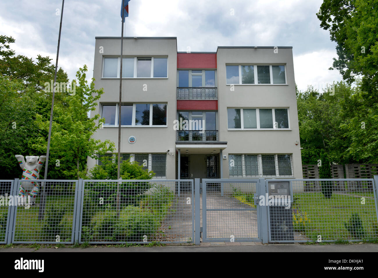 Botschaft Eritrea, Stavangerstrasse, Pankow, Berlin, Deutschland Stock Photo