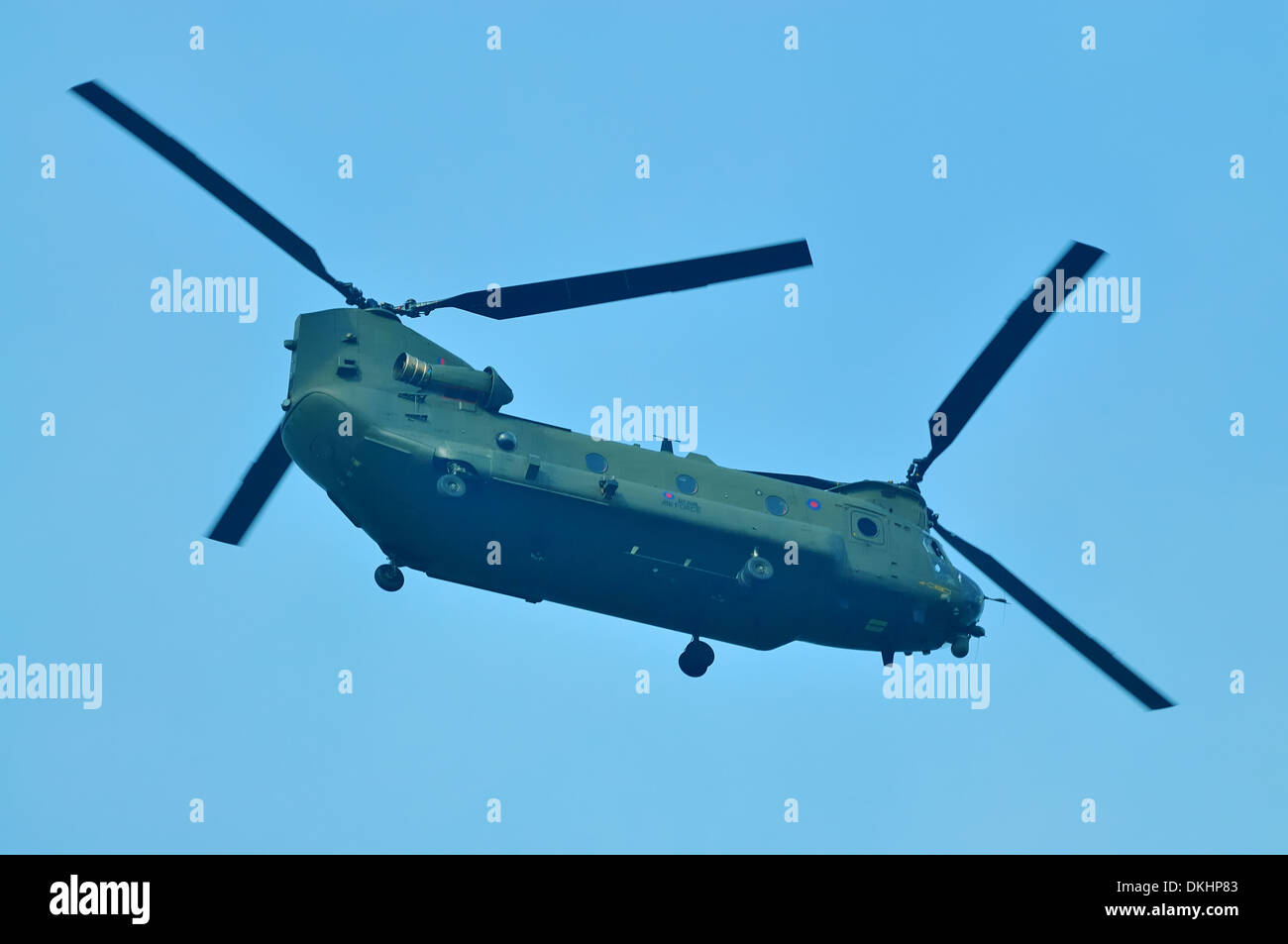 RAF Boeing Chinook HC2 heavy lift helicopter - Stock Image